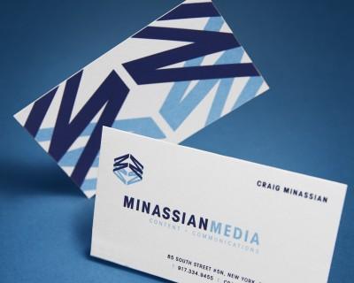 Minassian Media Identity & Collateral